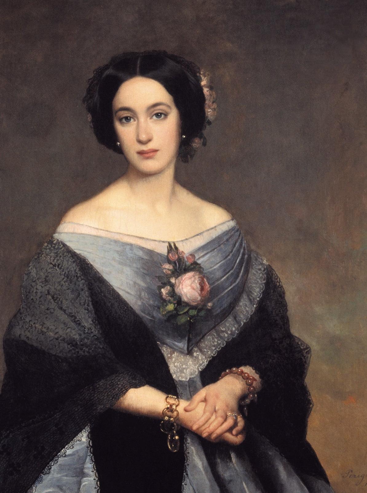 Virginie Pichon Longueville Comtesse de Lalande