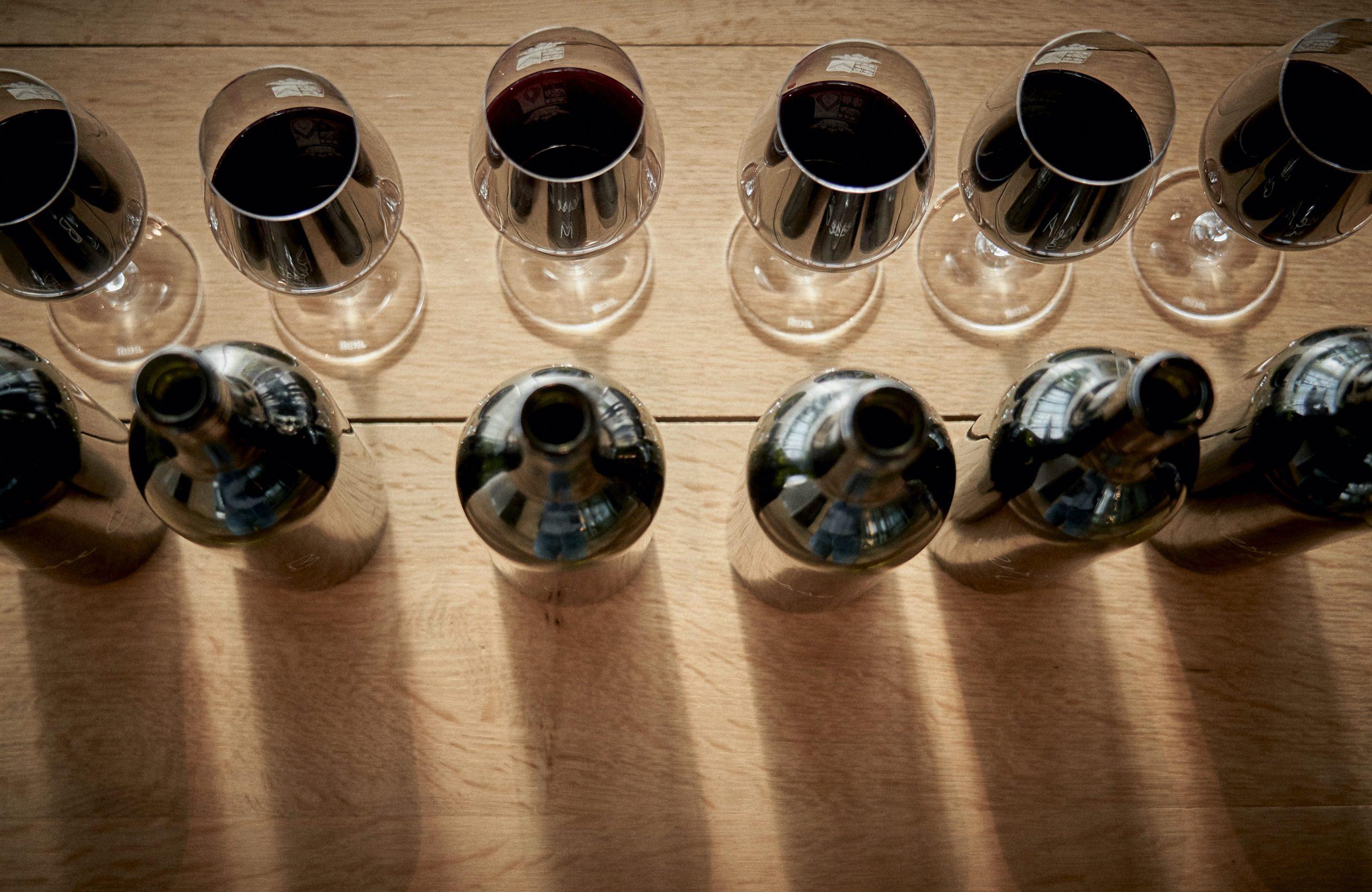 Assemblage vin Médoc, dégustation vin Médoc
