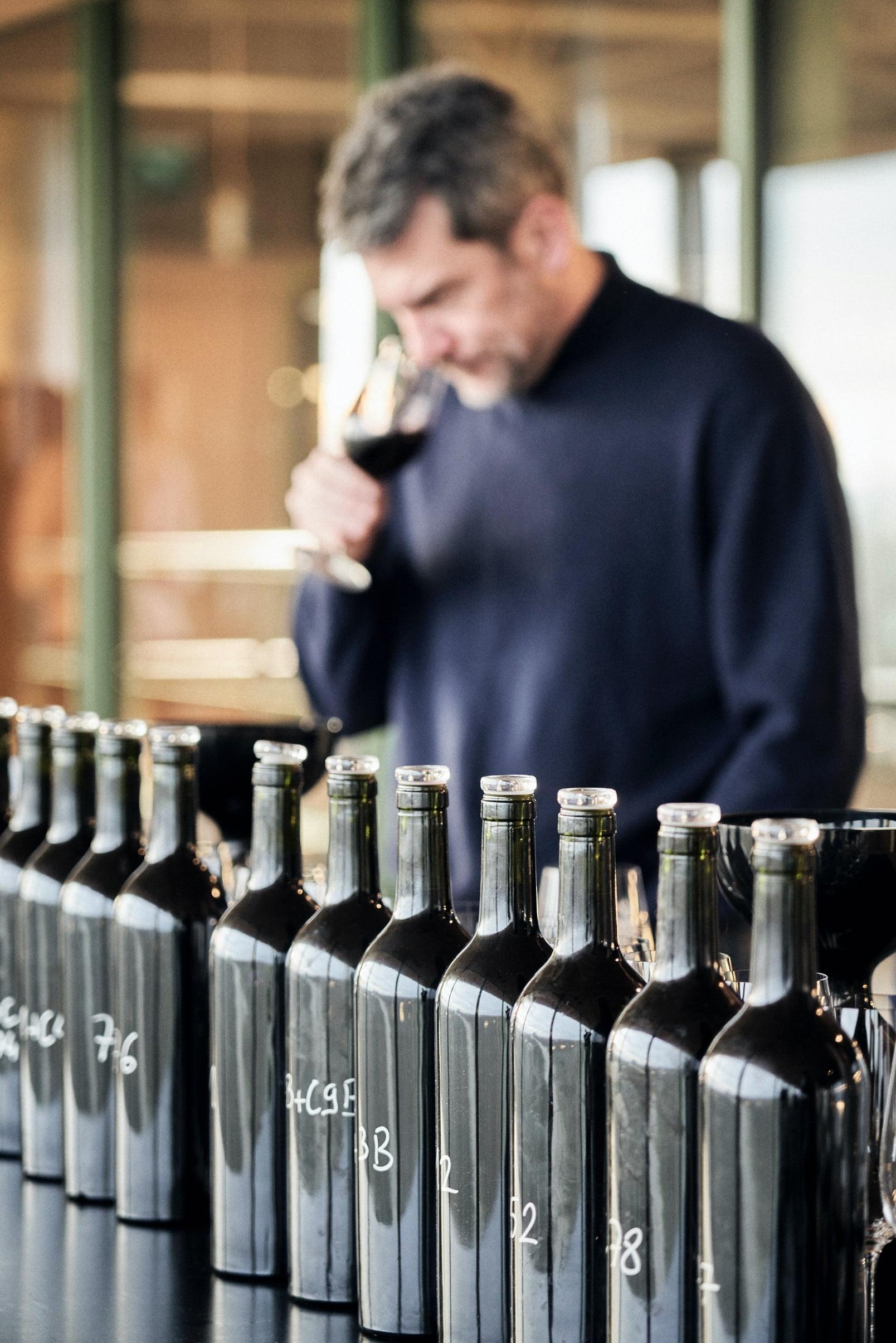 Blending great wine Pauillac